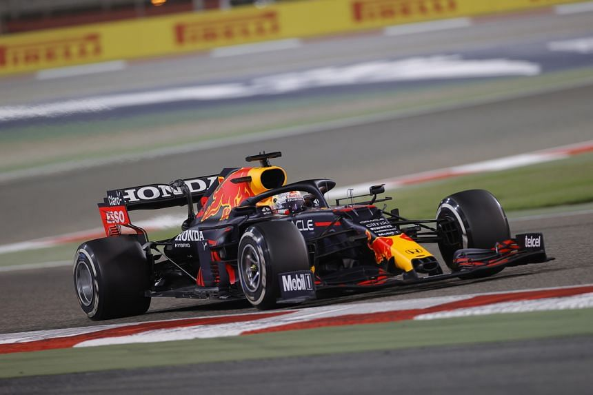 """Max Verstappen was asked to hand back the race lead because he """"gained an advantage"""" in running off track."""