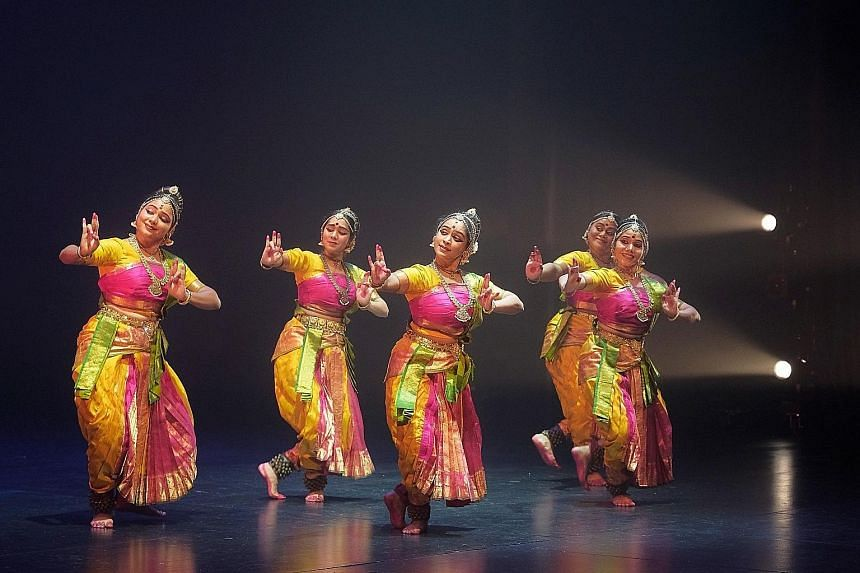 The principal dancers in Prakriti Vikriti - Nature's Nature Revisited made brilliant use of space.