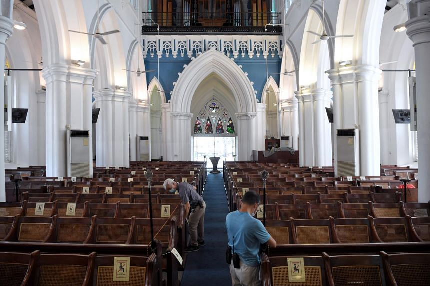 Places of worship opened for private worship in June 2020 but congregants were not permitted to sing.