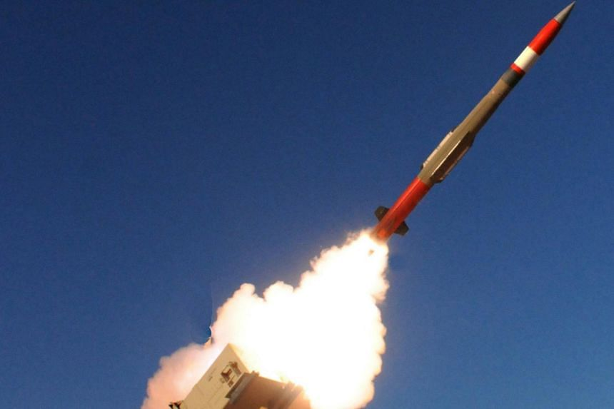 Taiwan's Air Force said it decided to buy the Patriot Advanced Capability 3 Missile Segment Enhancement missiles, with deliveries beginning in 2025.