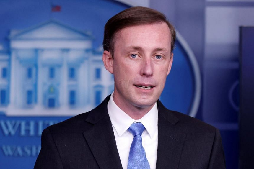US national security adviser Jake Sullivan will meet with his Japanese and South Korean counterparts on April 2, 2021.