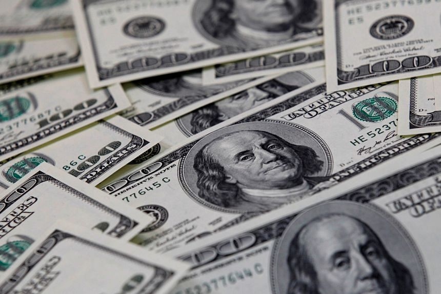 The dollar was also supported from a spike in US bond yields, which make the currency more attractive as an investment.