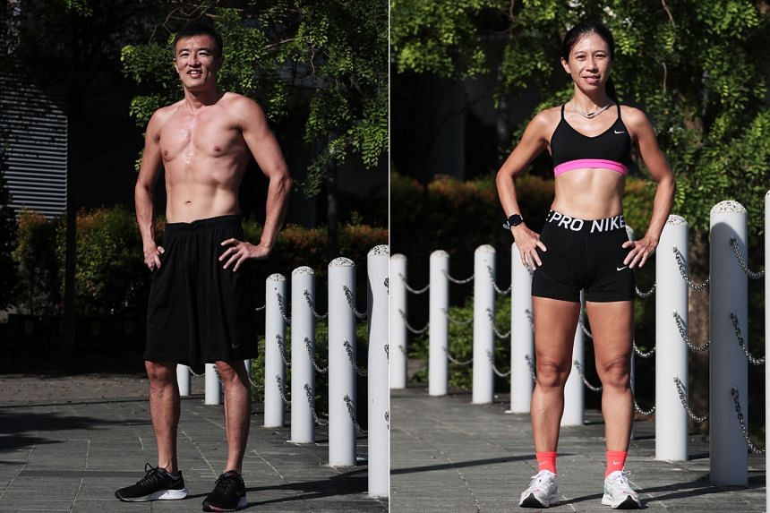 Timothy Tor, 46 (left)  and Josephine Tay, 48 (right).