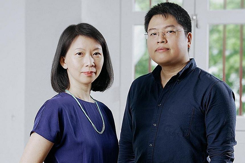 Other changes at T:>Works include the appointment of Ms Traslin Ong (above left) as executive director and multi-disciplinary artist Brian Gothong Tan (above right) joining the company to direct an artistic atelier for the next three years.