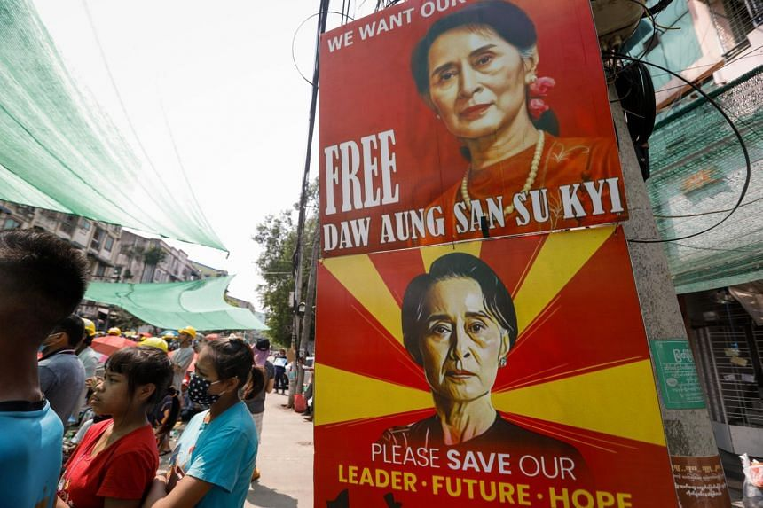 Ms Aung San Suu Kyi has been charged with breaking a colonial-era official secrets law.
