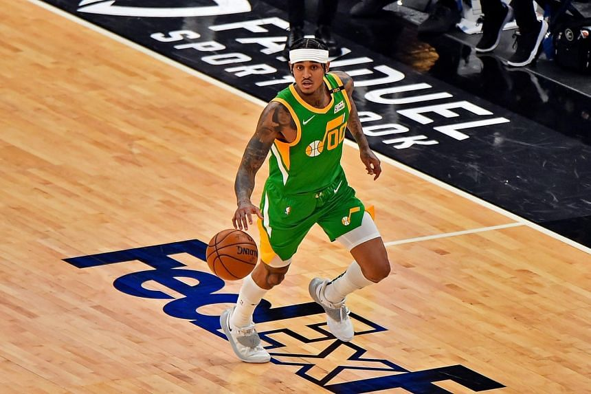 Sixth man Jordan Clarkson said an announcement from the pilots that they would be returning to Salt Lake airport helped calm the situation.