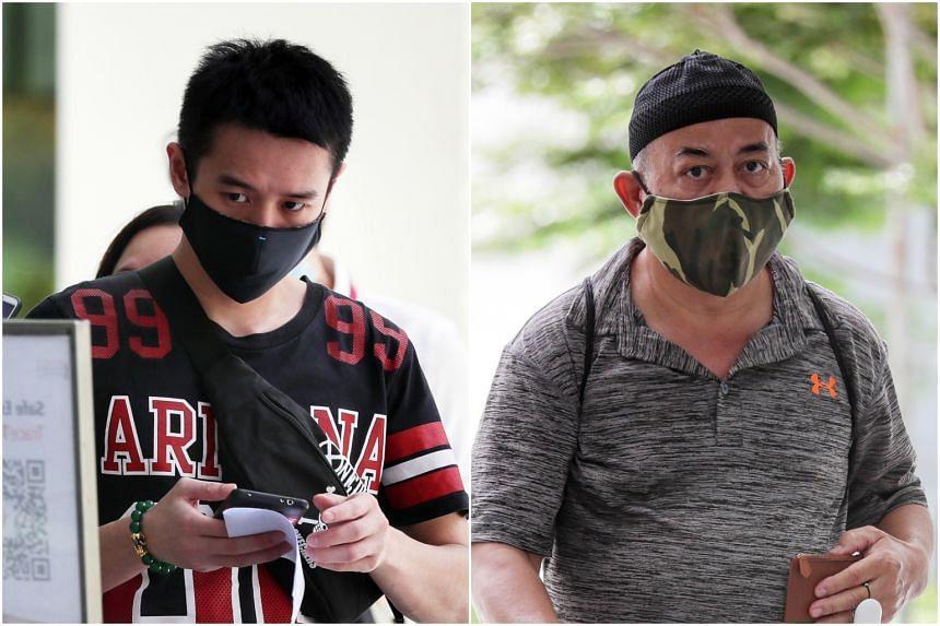 Malaysian Clement Tan Jun Yan (left) targeted four boys and Singaporean Mohamed Taha Ahmad molested one.