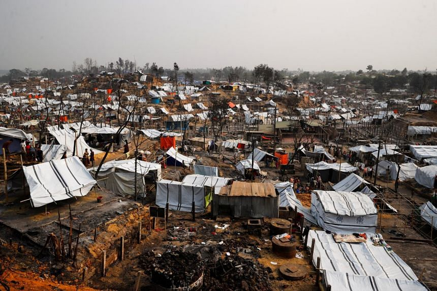 The girl had been sheltered for more than a year in Assam state, while her family lived as refugees in Bangladesh's Cox's Bazar (pictured).