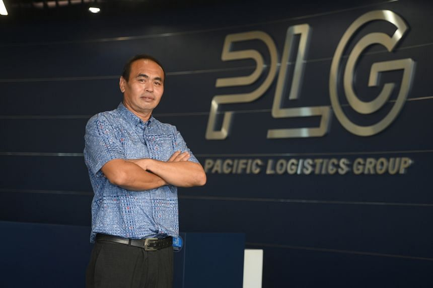 Mr Sia Hock Tee started work at  Pacific Logistics Group last October.