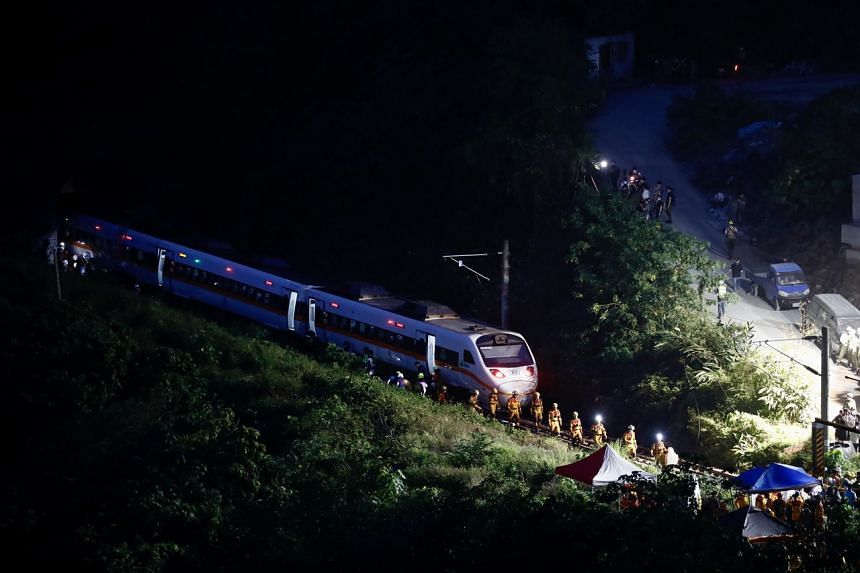 The 33-year-old train driver and his assistant, 32, were killed in the derailment.