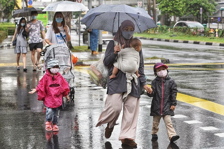 The Meteorological Service Singapore said that overall, rainfall is expected to be near normal over most parts of the island.