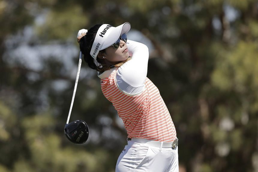 Patty Tavatanakit had a hole-out for eagle, three birdies and two bogeys in her three-under 69.