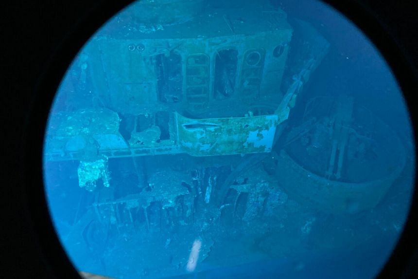 A crewed submersible filmed, photographed and surveyed the wreckage of the USS Johnston off Samar Island.