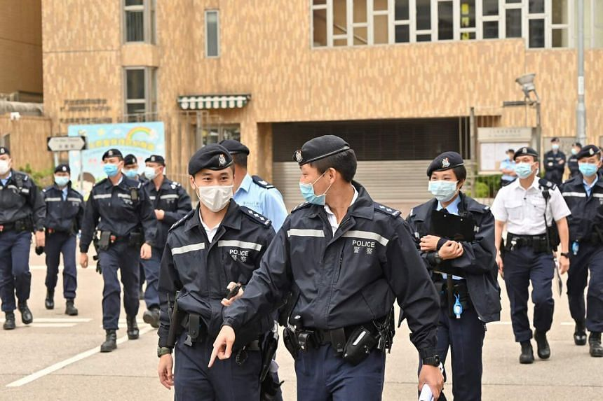 Hong Kong police said the bust was made on April 2, 2021. The bust is the largest in the territory in nearly a decade