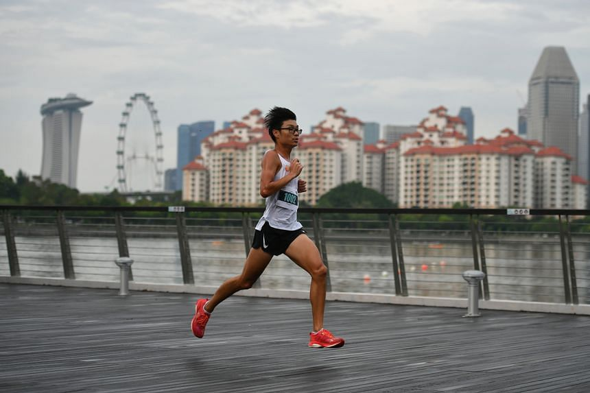 Most runners had not competed in a physical race for close to a year.