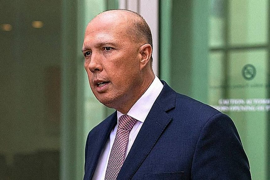 Mr Peter Dutton says Australia does not want to see conflict in the region.