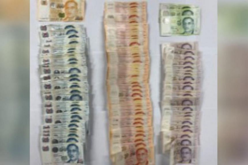 About $4,500 in cash was seized from the group.