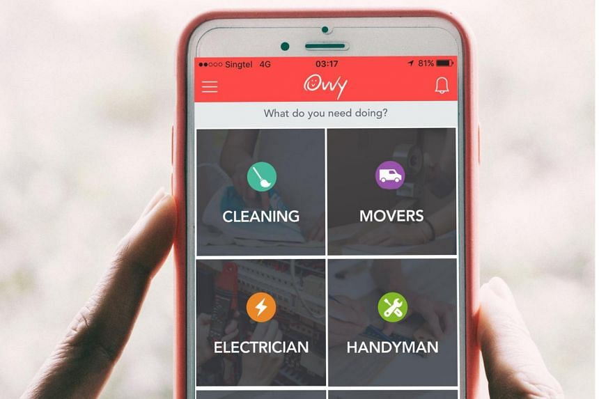 Ovvy is an app-based online marketplace for household services.