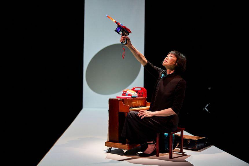 Pianist Margaret Leng Tan in Dragon Ladies Don't Weep at The Esplanade's Studios Season.