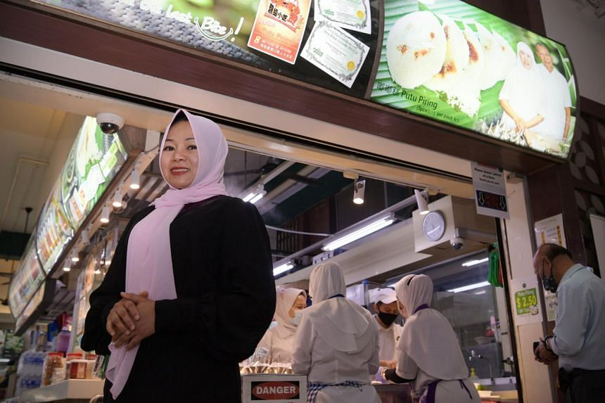 Haig Road Putu Piring managing director Nooraisha Md Hashim hopes to expand her business and plans to continue leveraging technology.