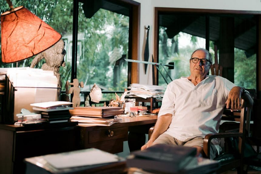 Paul Theroux can see how travelling as an octogenarian will have its assets.