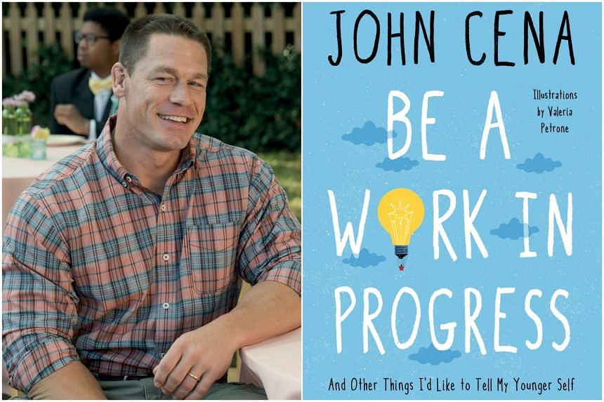 John Cena's two motivational books, including Be A Work In Progress: And Other Things I'd Like To Tell My Younger Self, were released on April 5, 2021.
