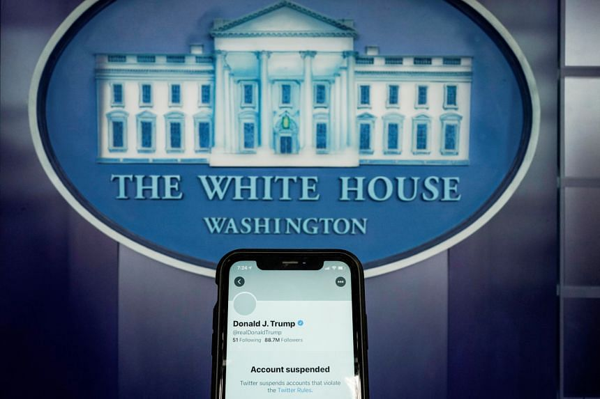 Twitter banned former US President Donald Trump from its platform days after a mob of his supporters attacked the US Capitol in a deadly riot on Jan 6.