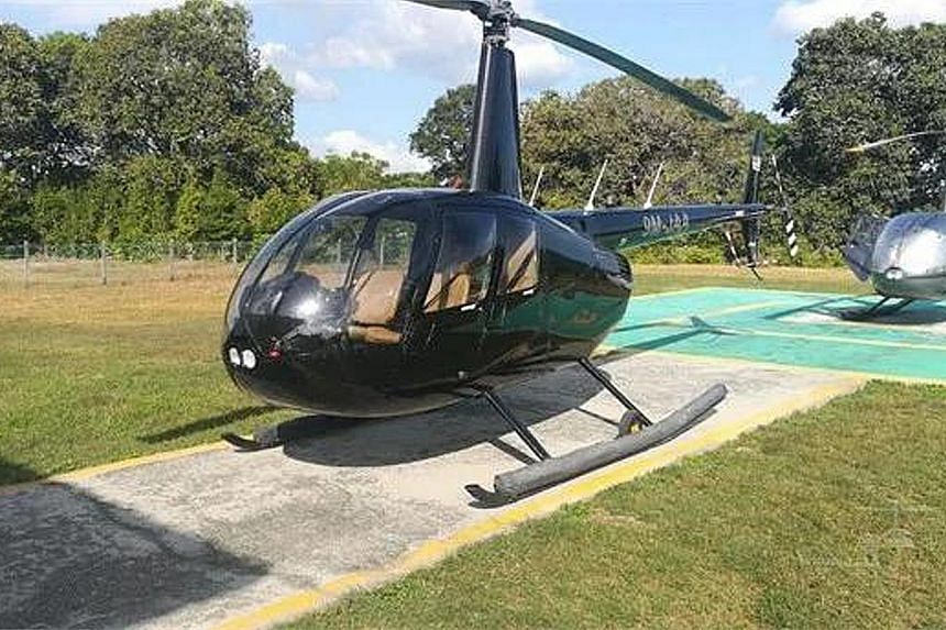 Investigators seized two helicopters, a yacht and several luxury cars from a man believed to be the leader of a syndicate bidding for government contracts using hundreds of shell companies.