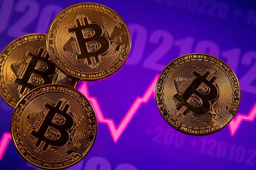 Cryptocurrencies like Bitcoin (above), which may be used for payment purposes, are one of two common types of crypto assets, said Senior Minister Tharman Shanmugaratnam. They can be highly volatile as their value is typically not related to economic