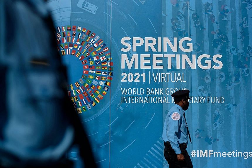 """The IMF, which is holding its spring meetings with the World Bank virtually this week, has emphasised that policymakers should scale back government support """"gradually"""", to avoid """"fiscal cliffs"""". Also, central bankers should give """"clear forward guida"""