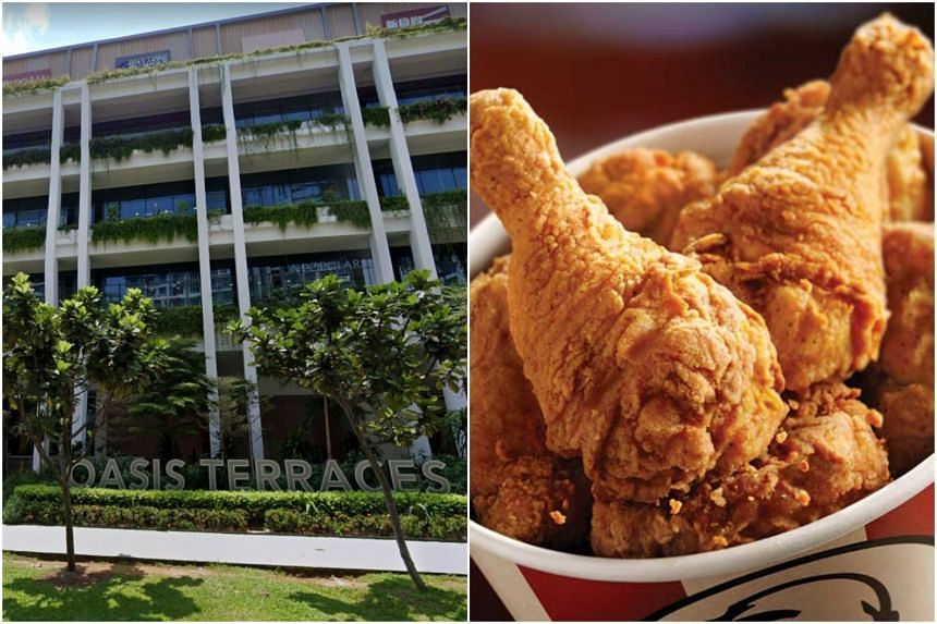 The KFC outlet in Punggol Oasis Terraces had chalked up 12 demerit points over a 12-month period.