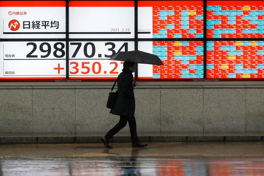 MSCI's broadest index of Asia-Pacific shares outside of Japan was up 0.3 per cent.