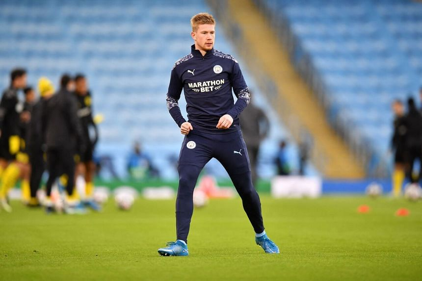 Kevin de Bruyne looks set to see out most of the remainder of his career at the Etihad Stadium.