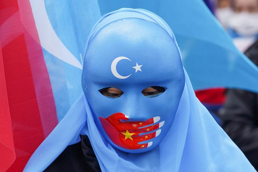 Many of the 40,000 Uighurs in Turkey have criticised the government's approach to China.