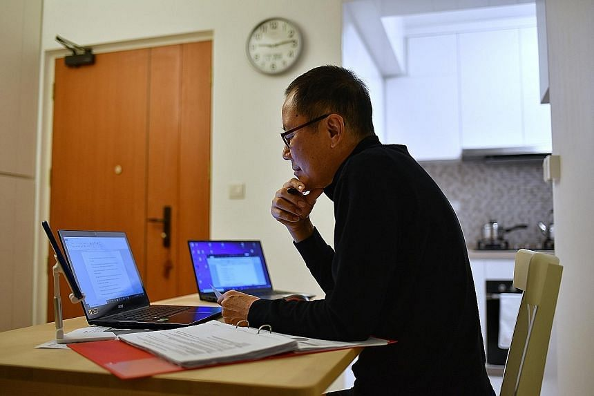 Last year's circuit breaker showed Singaporeans that modern technology has enabled them to work remotely, away from an expensive office in the Central Business District, says the writer.