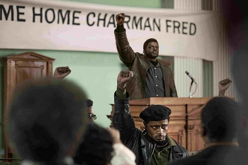 In Judas And The Black Messiah, Daniel Kaluuya (left, background) plays activist Fred Hampton. Mortal Kombat stars Singaporean actor Ng Chin Han (above) as evil sorcerer Shang Tsung.