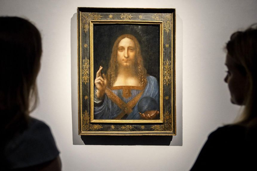 There have long been questions over whether it was entirely the work of da Vinci.
