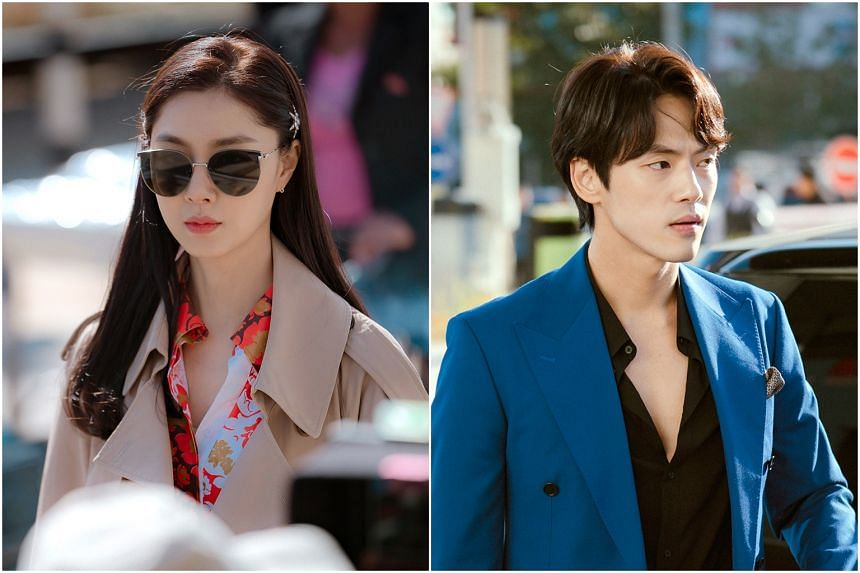 Seo Ji-hye (left) and Kim Jung-hyun played an onscreen couple in hit South Korean drama Crash Landing On You.