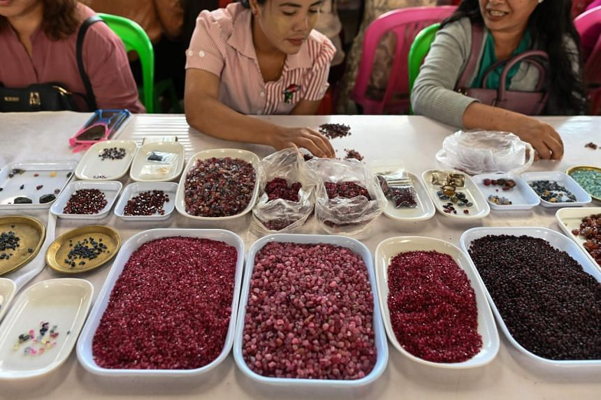 The sanctions are aimed at depriving the Myanmar military junta of a key moneymaker.