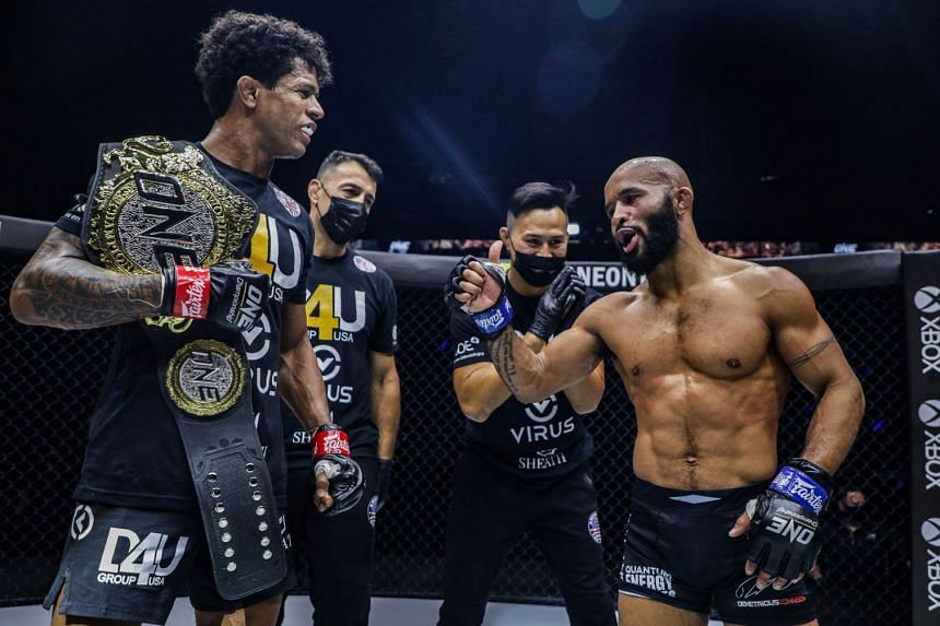One Championship's flyweight world champion Adriano Moraes successfully defended his title against Demetrious Johnson on April 8.