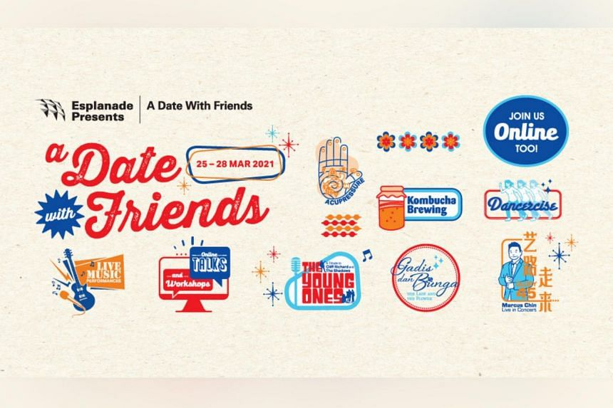 If you missed the live performances of the Esplanade's A Date With Friends, you can catch some of them online.