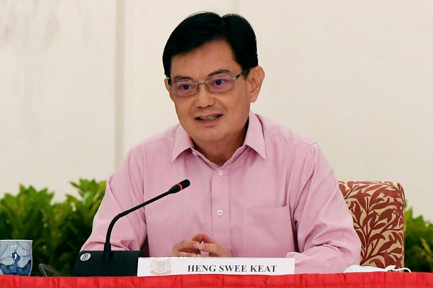 Deputy Prime Minister Heng Swee Keat is stepping aside as leader of the People's Action Party's fourth-generation team.