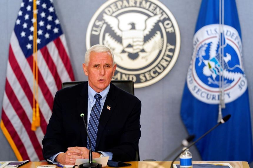 Mr Pence is a conservative Republican widely believed to be considering a presidential run of his own.