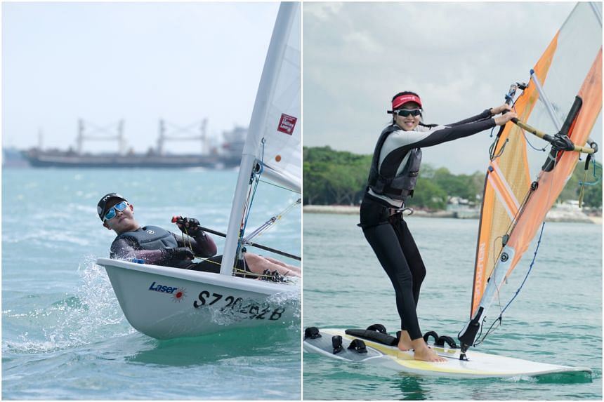 Ryan Lo and Amanda Ng will be nominated by the Singapore Sailing Federation by virtue of being the top local sailors at the Asian qualifiers.