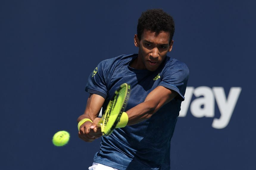 Felix Auger-Aliassime is 22nd in the ATP world rankings and one of the rising stars of men's tennis.