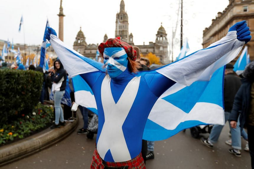 One opinion poll found that Scottish voters would opt for independence by 51 per cent to 49 per cent, while another found the two sides tied at 45 per cent.
