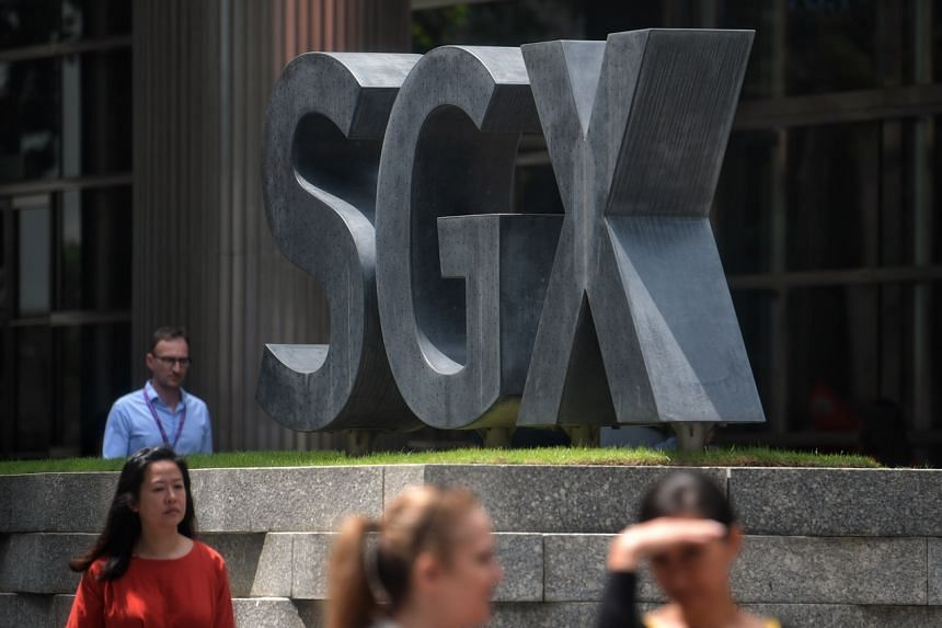 SGX was one of the counters on the blue-chip index that ended the day in the black.