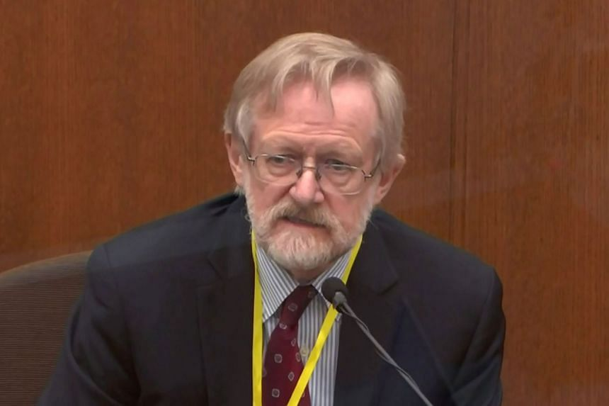 Chicago-based breathing expert Martin Tobin answers questions during the ninth day of the trial.