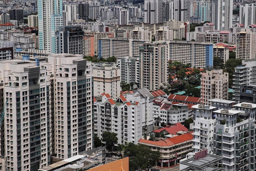 There are system loopholes in tenancy practices in the residential property market, in particular the protection of tenants' rental deposits, the writer says. ST PHOTO: GIN TAY