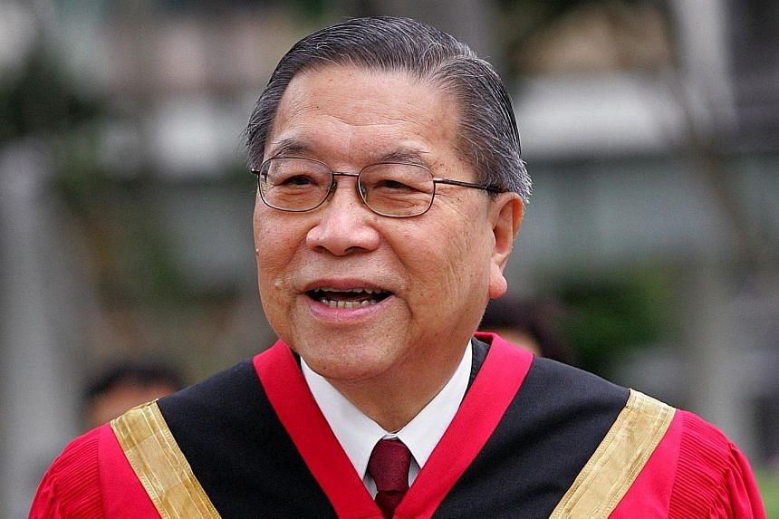 The Singapore Management University law school's new name - Yong Pung How School of Law - takes effect on Sunday, the day on which the former chief justice would have turned 95. He died in January last year. ST PHOTO: GIN TAY Mr Yong Pung How was Sin